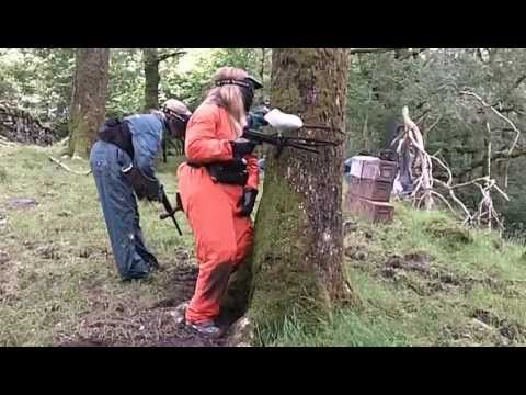 Hen party paintballing activities near Windermere, Ambleside and Coniston