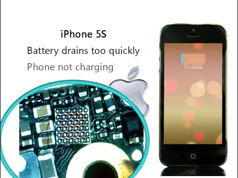 iPhone 5S Battery drains too quickly on standby & Phone not charging  / entlädt die Batterien