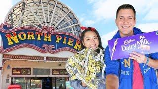 Exploring the North Pier Arcade in Blackpool, England!!!