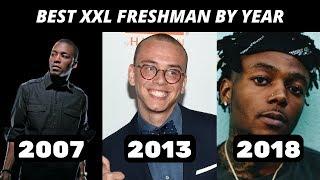 Best Rapper From Every XXL Freshman Class (2007-2018)