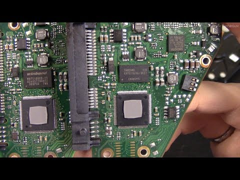 Swapping Hard Drive Calibration Chips To Fix Bad Drive