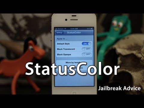 [Jailbreak Advice] StatusColor - Add iOS 6 Status Bar Color Effects To iOS 5 - Free Cydia Tweak