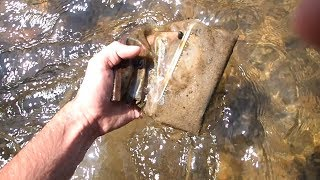 River Hunting! - Found Phone in Bag, Rings, And Pocket Knife!