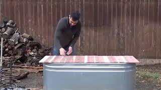 Download DIY - A hot Water Tub at home Video