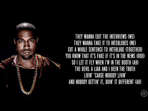 Kanye West ft. Travis Scott - WASH US IN THE BLOOD (Lyrics)