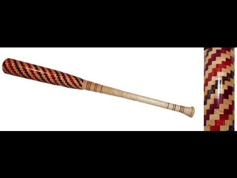 Baseball Bat made of 577 pieces!!!