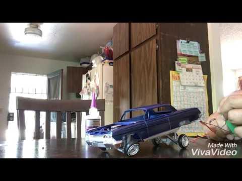 1962 impala lowrider model car hopper