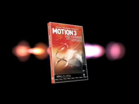 Motion 3D DVD Box Animation