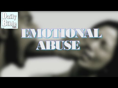 when you feel emotional abuse: God's promises