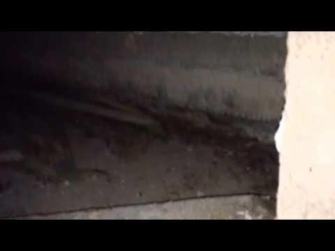 Sandy - ground sinking under deck