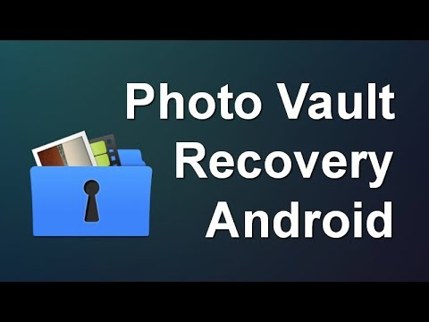 How to Recover Deleted Photos from Vault App in Android