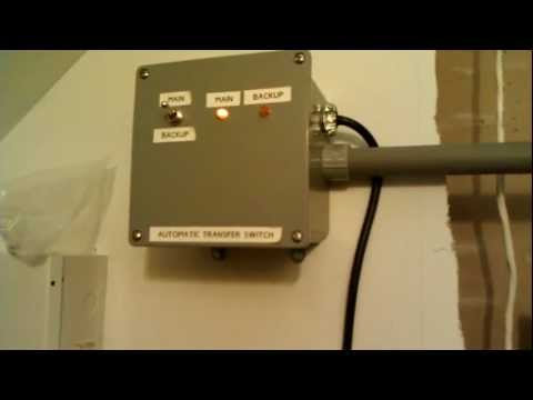 Homemade Transfer Switch