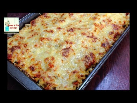 Chicken Lasagna Recipe - Lasagna With White Sauce by (HUMA IN THE KITCHEN)