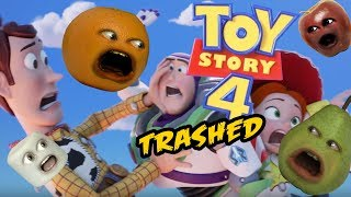 Annoying Orange - Toy Story 4 Trailer TRASHED!!