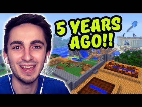 My First Minecraft World! (5 Years Ago)