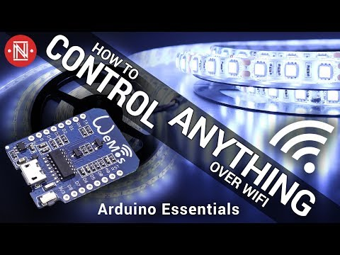How to Control LEDs (or anything) Over WiFi || Arduino Essentials #2