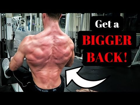 3 Easy Moves For Building A Bigger Back