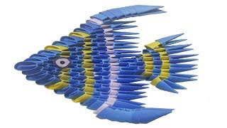3D Origami Fish | DIY Origami Fish | Learn Origami | How To Make ... | 180x320