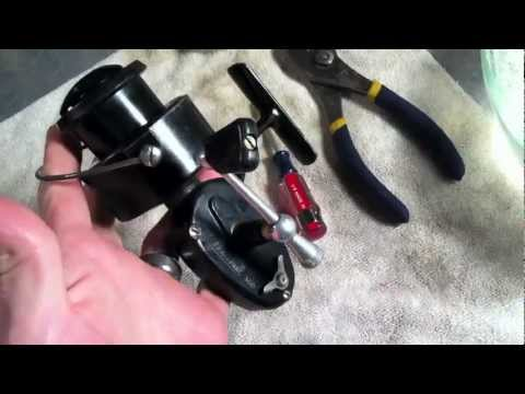 How To Restore / Clean A Spinning Reel ... Easy and Cheap! Fixes Most Older Reels!