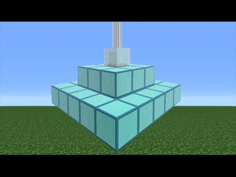 Minecraft Tutorial: How To Make A Beacon Pyramid