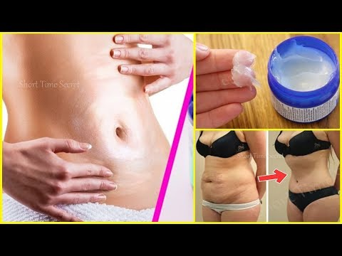 In 7 Days Super Fast Way To Reduce Belly Fat | Just Apply it  Before Bedtime & Burn Fat Overnight