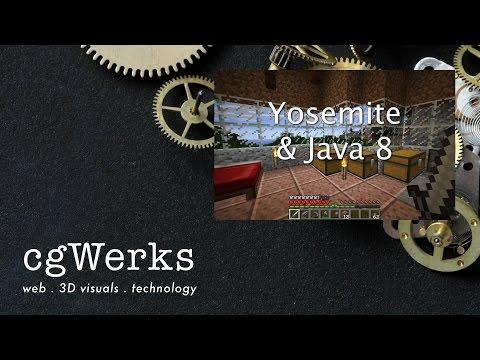 Make Minecraft run on Mac OSX Yosemite with latest Java 8