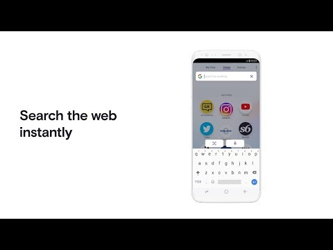 Opera Touch - a browser designed to be used on the move, merging mobile and desktop | OPERA