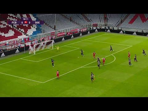 Bayern München vs Eintracht Frankfurt | Bundesliga | 23 Mai 2020 | PES 2020