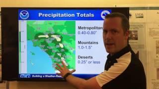 Weather Briefing Jan. 11, 2017