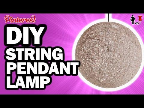 DIY String Pendant Lamp, Corinne VS Pin #23
