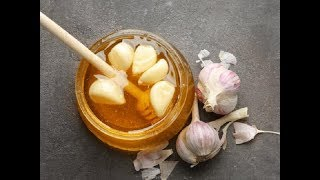 How to make fermented honey garlic / Homemade natural syrup to treat flu, cold and boost your immuni