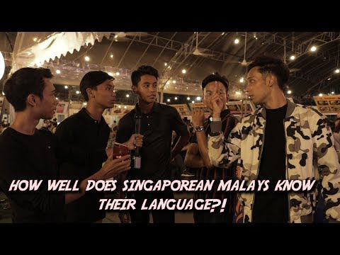 Xxx Mp4 How Well Do Singaporean Malays Know Their Language 3gp Sex