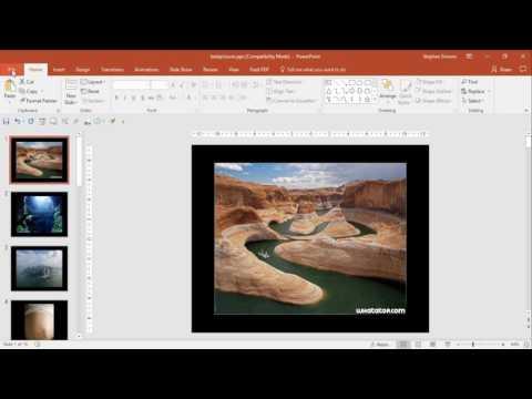 Save PowerPoint slide as JPG