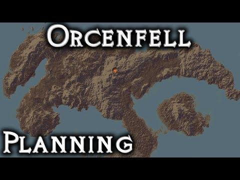 Minecraft: Orcenfell - Planning (Live Stream)