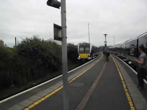 Derry Train Arriving in Belfast