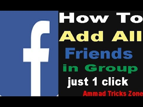 How to add all members in group in one click.. From mobile..