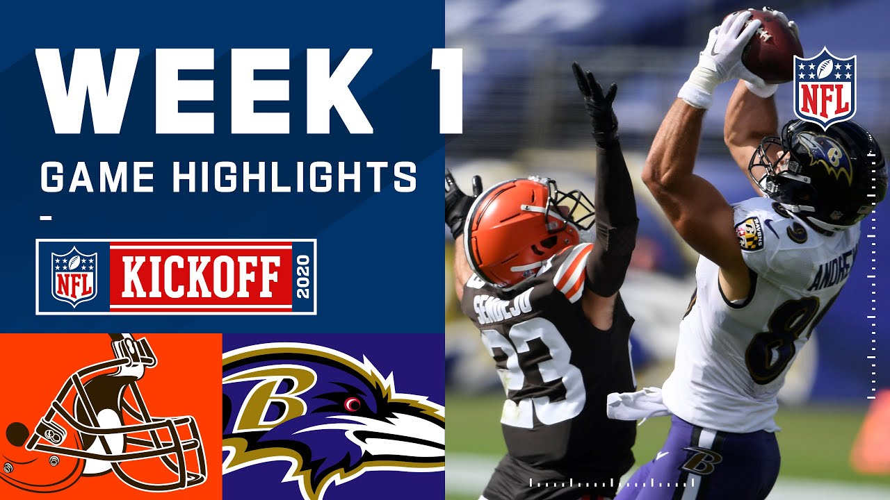 Browns vs. Ravens Week 1 Highlights | NFL 2020