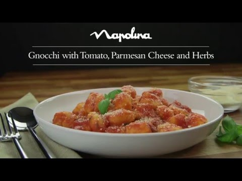Gnocchi, Passata and Parmesan Cheese