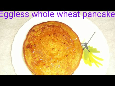 Healthiest pancake, आटा का पूडा , traditional indian 4 ingredient health breakfast for kids tiffin