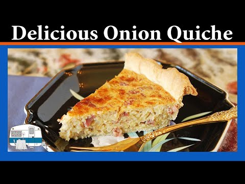 How to make Onion Quiche