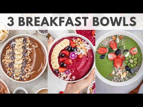 3 Breakfast Bowls (raw & vegan) | AyuNature