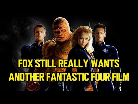 Fox still really wants another FANTASTIC FOUR film (why?)