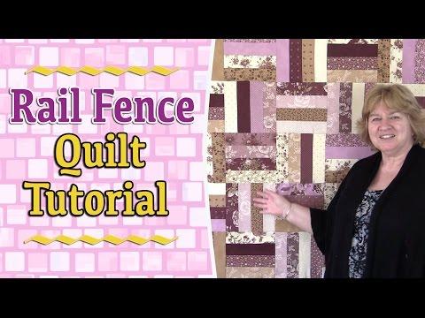 Quilting Tutorials: Rail Fence Quilt Tutorial