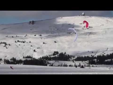 Road Closed - a snowkiting odyssey