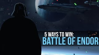5 Ways the Empire Could Have Won ENDOR | Star Wars Legends Lore