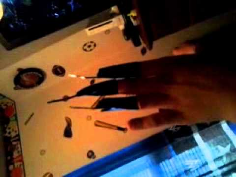 Catwoman claws homemade!!!