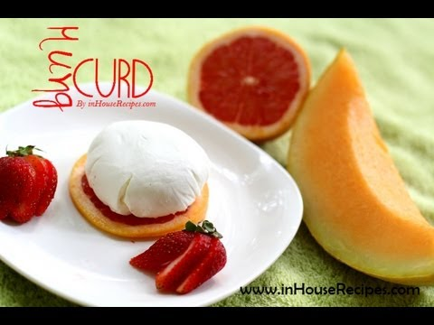Greek Yogurt or Hung Curd - Hindi with English Subtitles