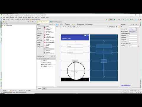 Simple Android Login App Tutorial || Android Studio 3.0