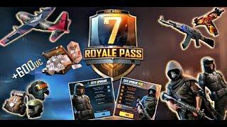 Pubg Mobile Season 7 Royale Pass - Pubg Free Account 2019