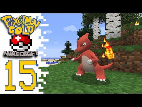 Pixelmon GOLD! (Pokemon Minecraft Mod) - EP15 - Dang Lapras